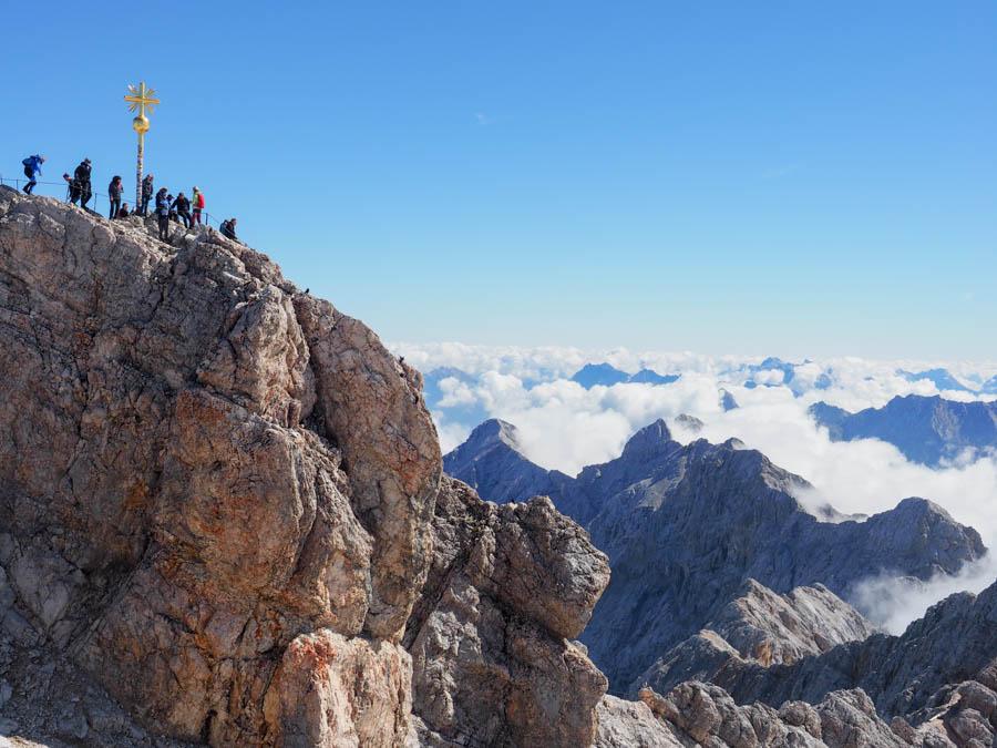 Zugspitze Mountain Peak Germany from Munich