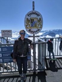 Zugspitze bayern germany border