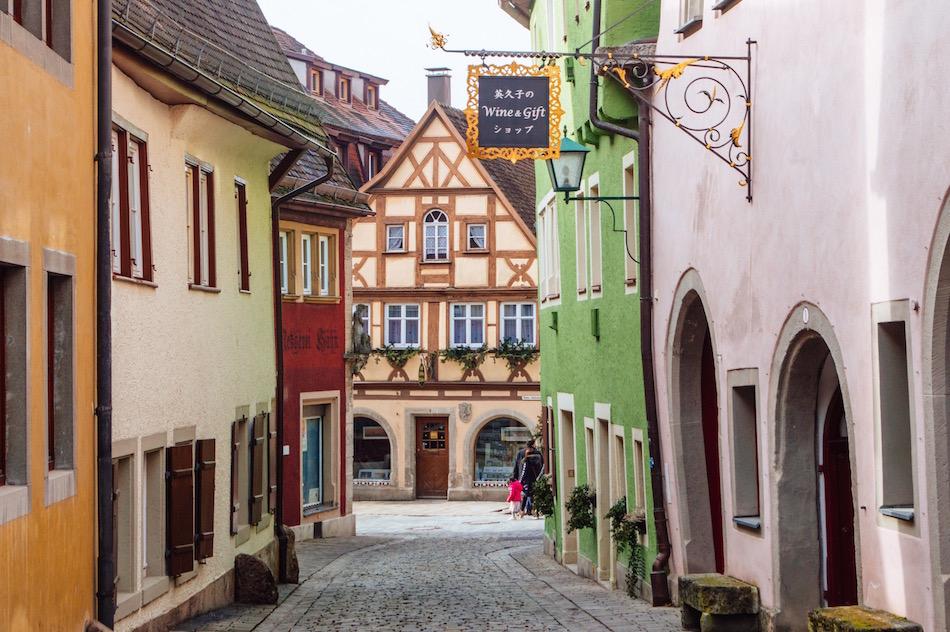 Rothenburg ob der Tauber Bavaria Germany Fair tale Village