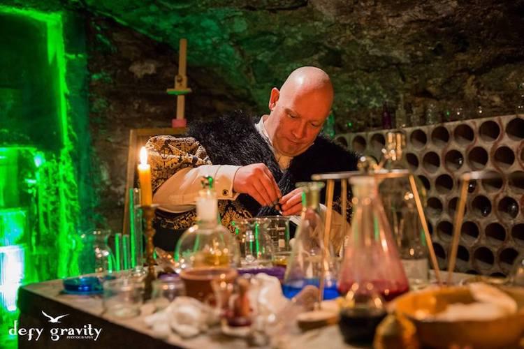 College of Wizardry alchemy Defy Gravity
