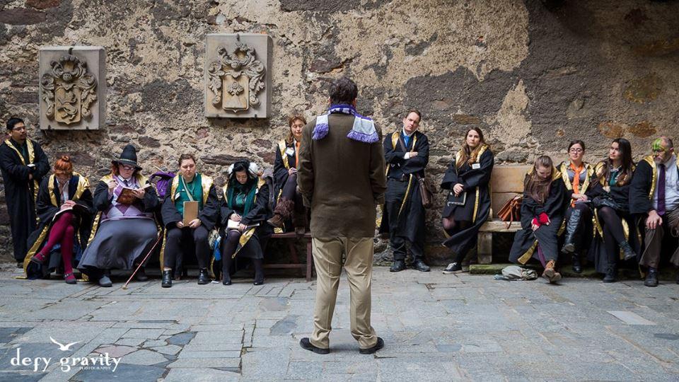 College of Wizardry ritual magic defy gravity