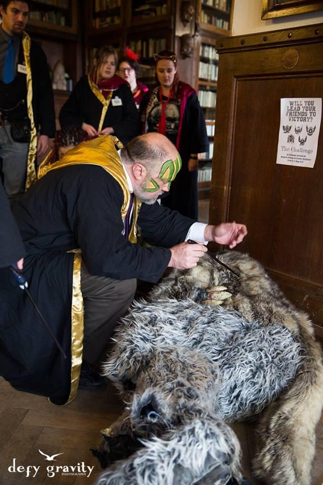 College of Wizardry werewolf healing defy gravity