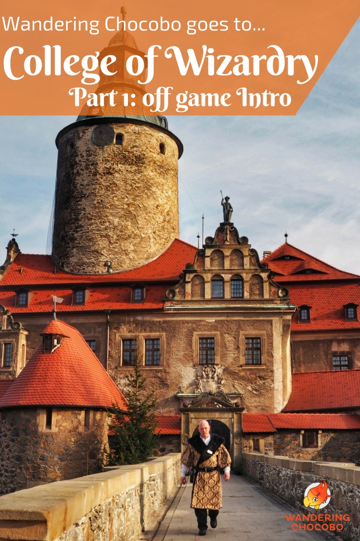Ever wonder what it's like to live in a castle for four days and make believe you're a with or wizard? Find out in part one of Wandering Chocobo goes to Czocha castle for College of Wizardry LARP.