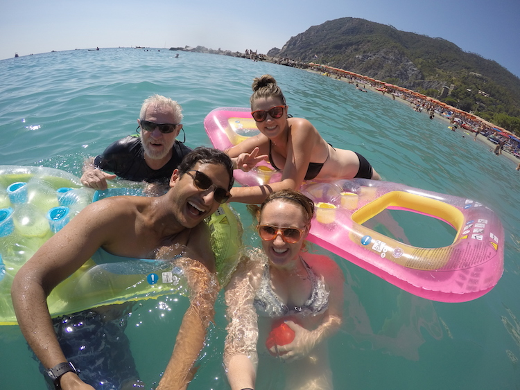 Family vacation in Cinque Terre, Italy