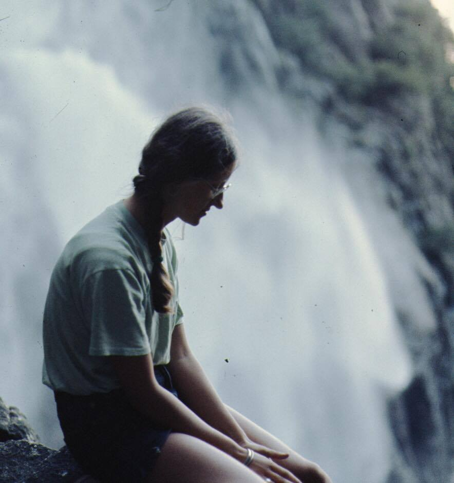 Yosemite Waterfall in the 70s Wandering Chocobo