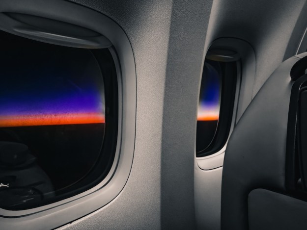 Offset air travel. Fly sustainably, lower your window shade