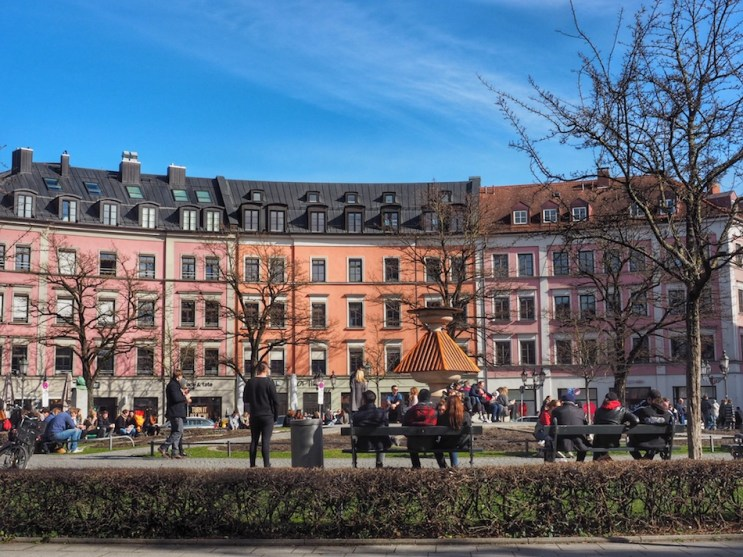 Gartnerplatz in Munich. Find the best places for nightlife and partying in Munich