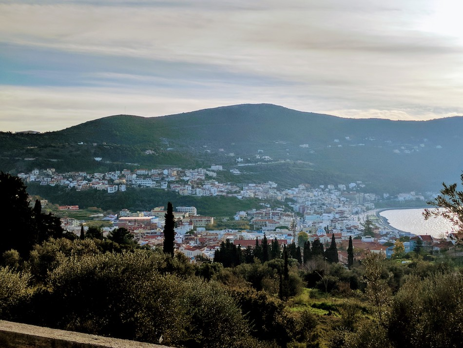 Working in Samos refugee camp in Greece. Samos refugee camp hot spot