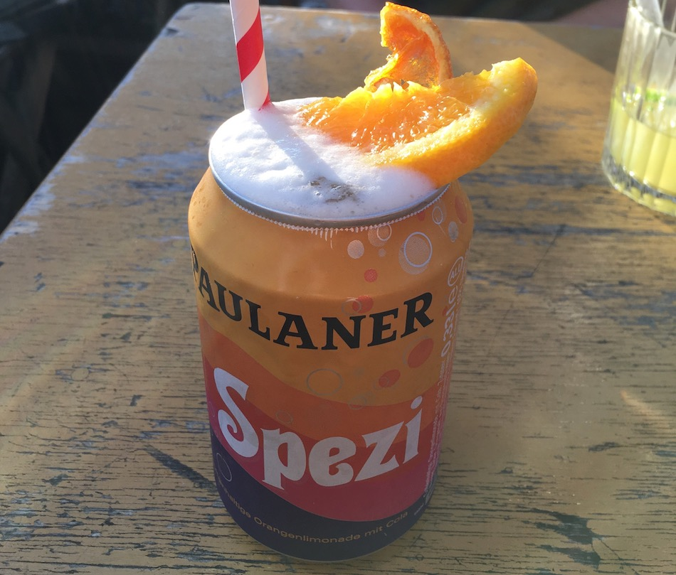 Paulaner Spezi cocktail from Flushing Meadows cocktail bar in Munich