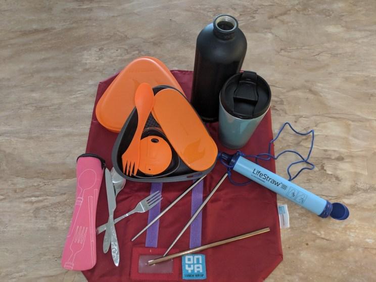 Reusable travel utensils