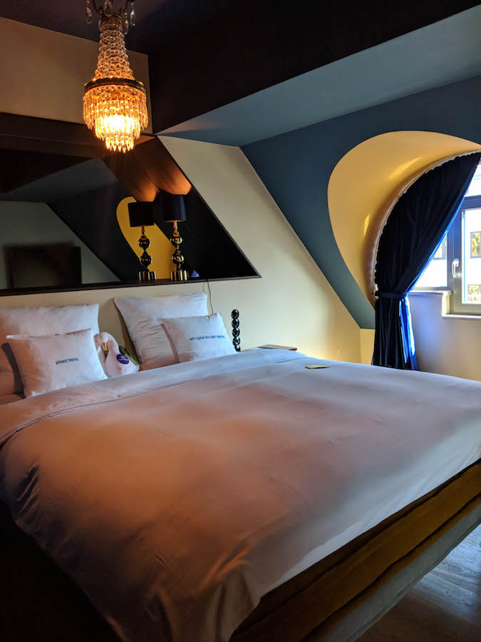 The Royal Bavarian 25Hours Hotel Munich suite