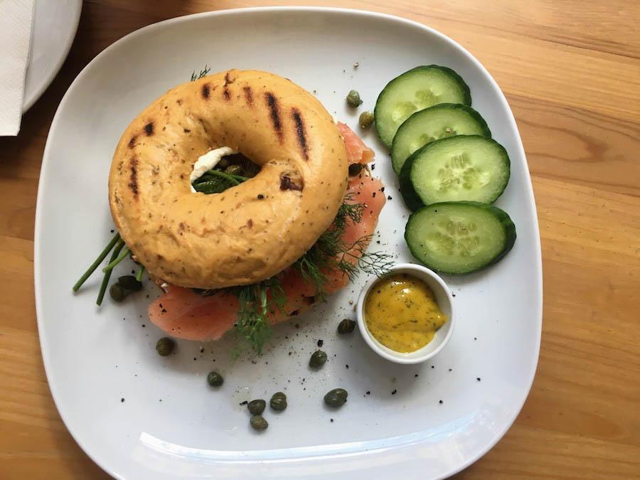 Munich breakfast brunch Bagel