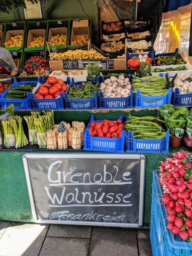 Viktualienmarkt Munich local market