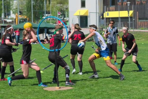 Quidditch team in Munich Germany, geeky things to do in Munich
