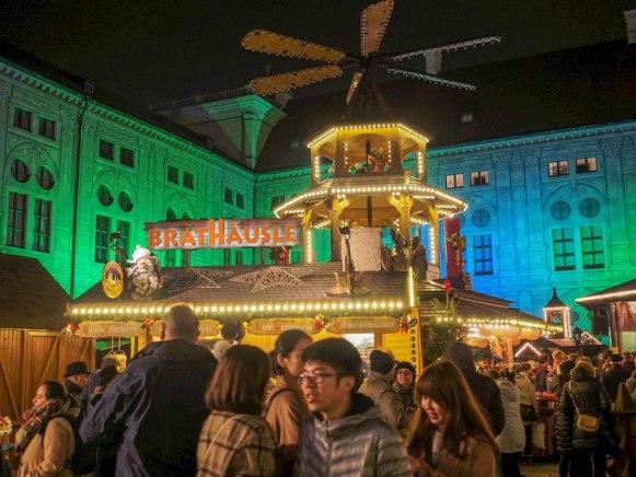 Munich Residenz Palace Christmas Market