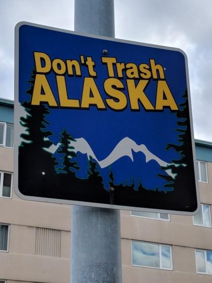 don't trash alaska
