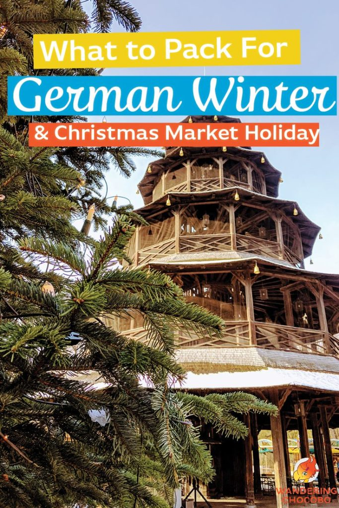 what to pack for a German Christmas Market holiday winter essentials