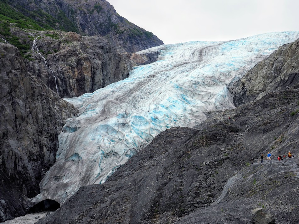 Exit Glacier HIke in Seward Alaska
