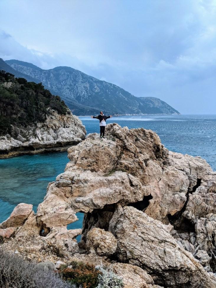 Samos Greece hidden beach Hike