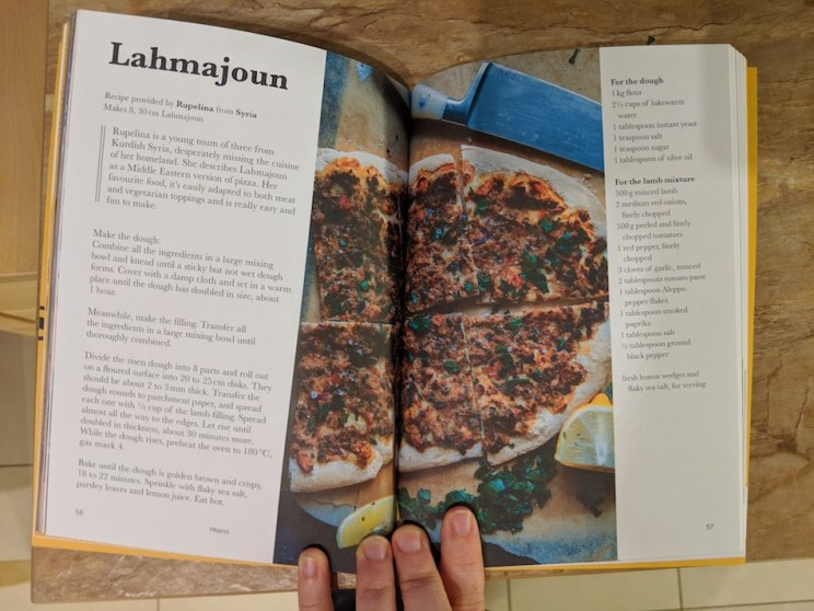 displaced dishes recipe book