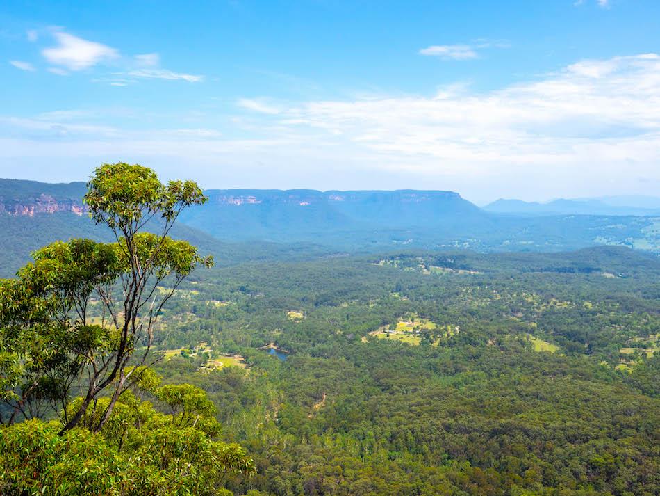 Megalong Valley Blue Mountains Australia