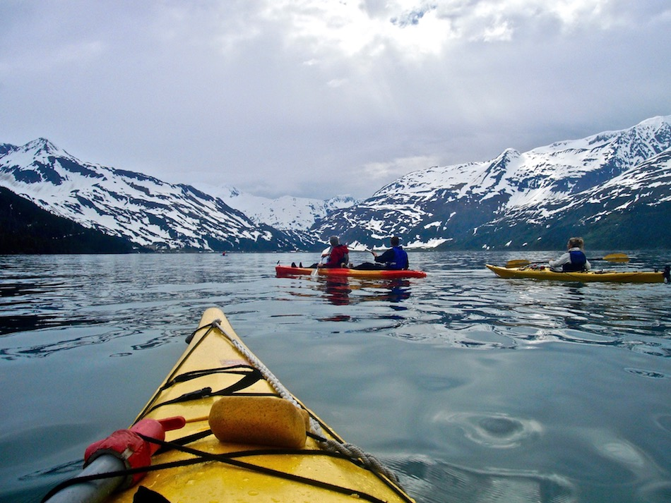 ocean kayaking in alaska whitter outdoor things to do