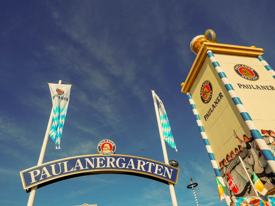 Paulaner Oktoberfest Tent introvert guide