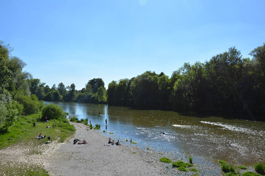 Munich Isar Summer