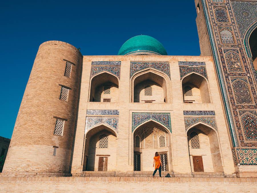 Kalon Square Bukhara Uzbekistan