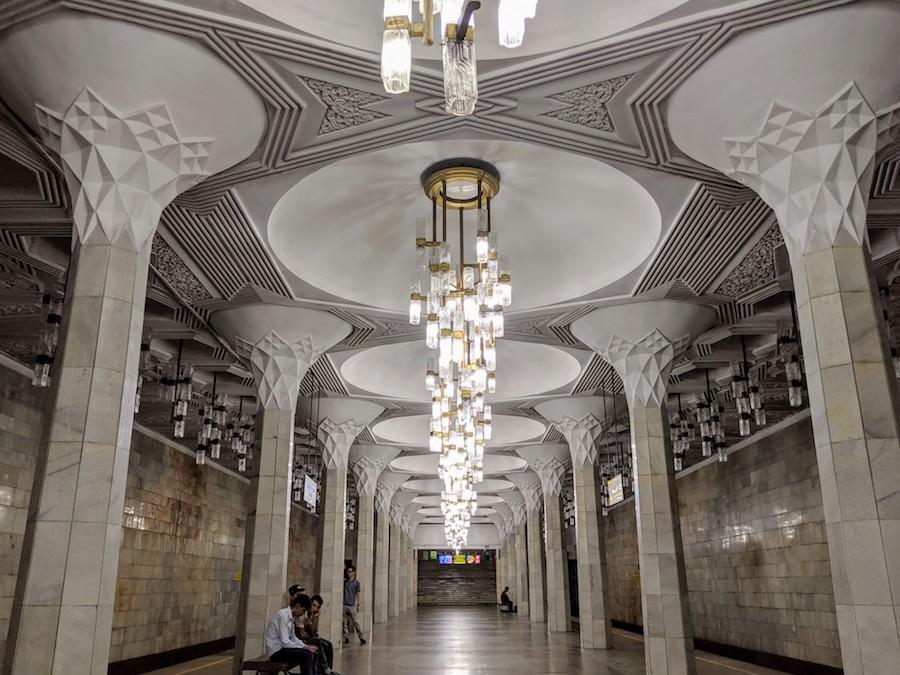 Tashkent Metro Photography