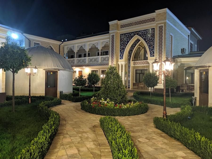 Tashkent Uzbekistan hotel and accommodation