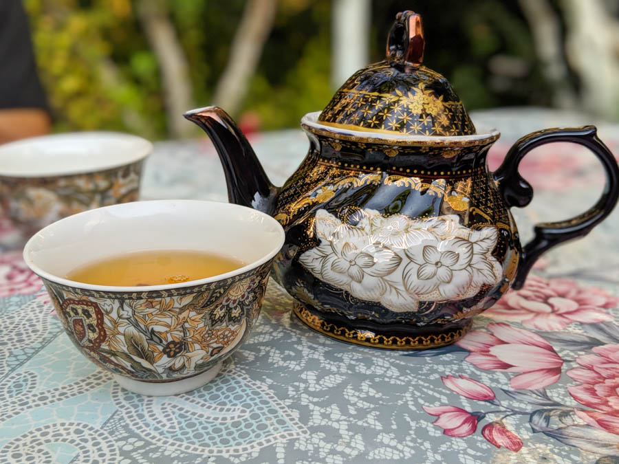 tea in central asia