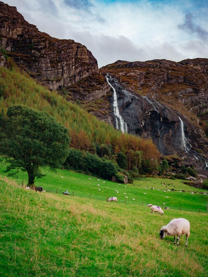 Ireland Wild Atlantic Way Waterfall
