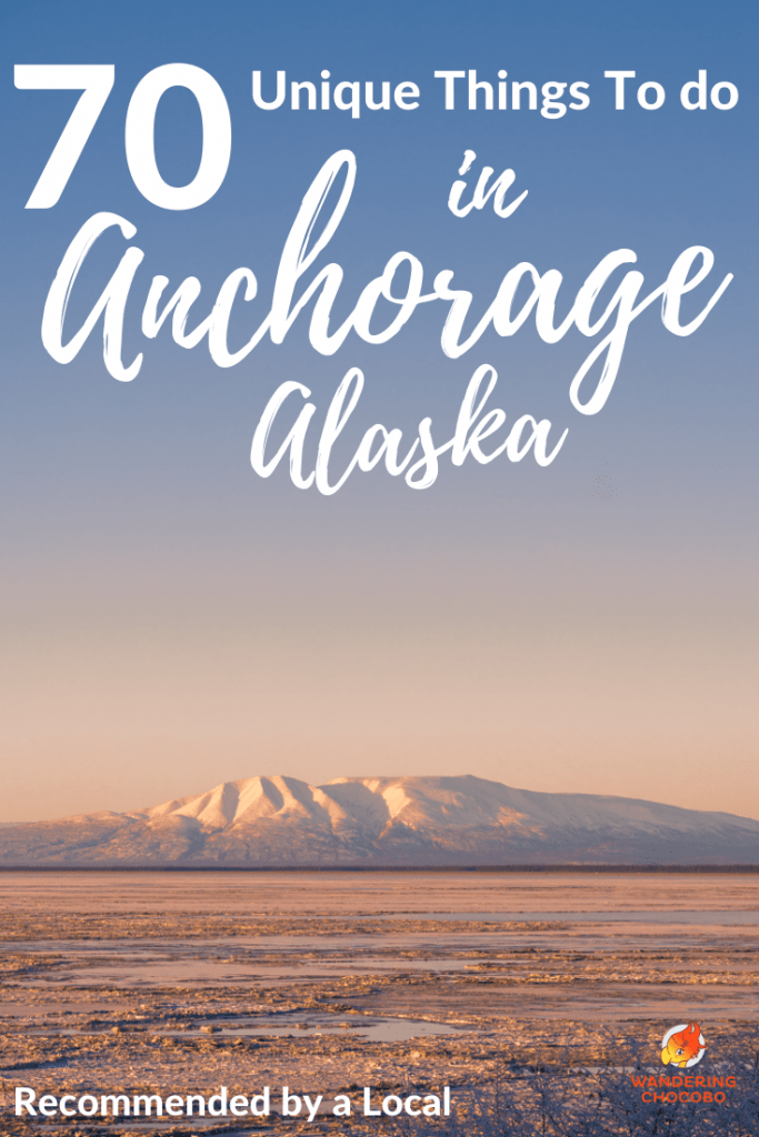 70 Unique Things to do in Anchorage Alaska