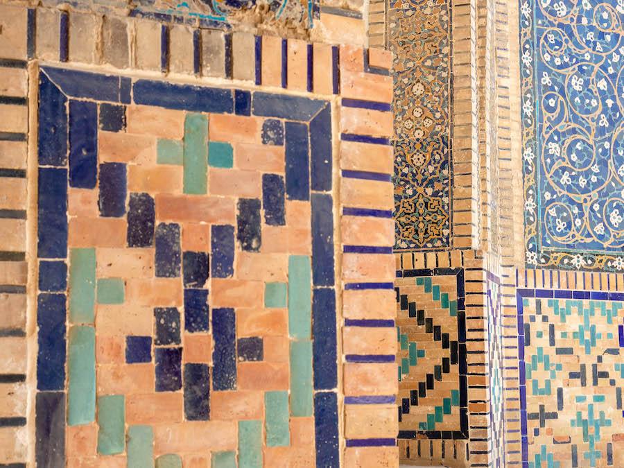 Uzbekistan tiles