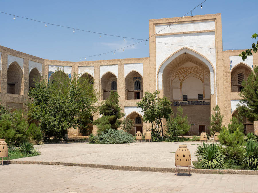 madrasa in Bukhara