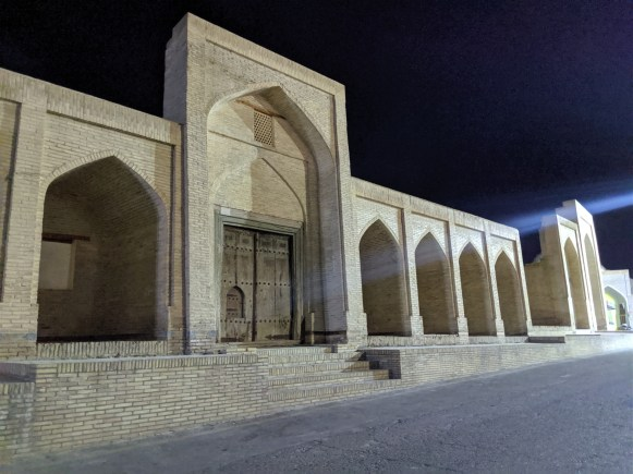 Bukhara at night