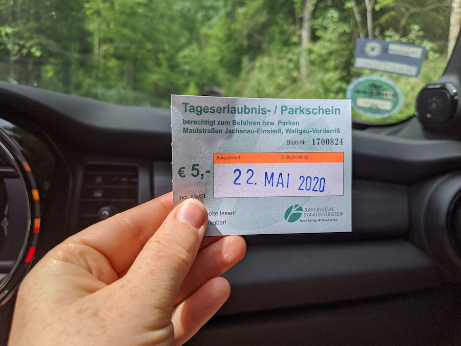 Jachenau Toll Road Scenic Drive
