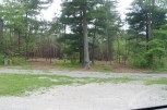 View out our back window at Claytor Lake