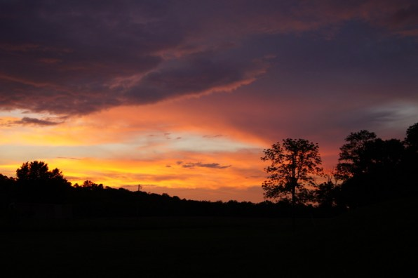 Sunset in Chillicothe, OH
