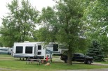 Our home for the night after a long day driving