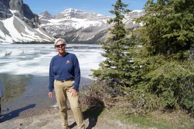 Beth at Bow Lake