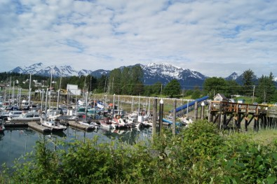 Haines boat harbor