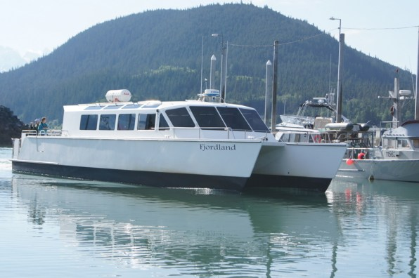 We took the Fjordland to Juneau from Haines