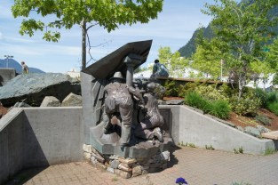Miner's Monument in Juneau
