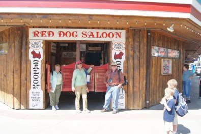 Lunch at the Red Dog Saloon