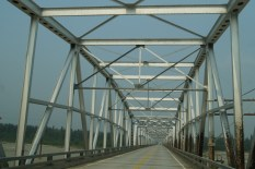 One of the bridges we crossed