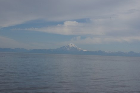 Mount Redoubt erupted in 2009