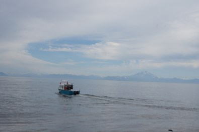 Heading out to the fishing grounds