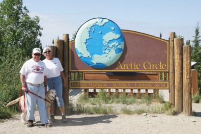 The Arctic Circle at last!